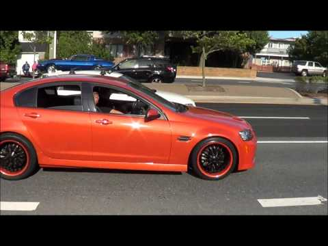 Highly Modded Pontiac G8 Brutal Accels amazing sound!