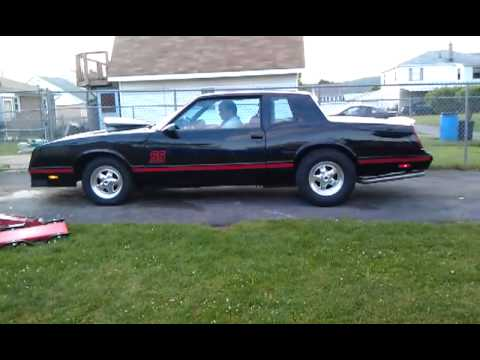 1987 monte carlo ss supercharged youtube. Black Bedroom Furniture Sets. Home Design Ideas