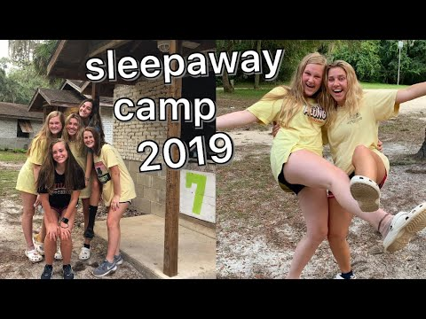 day in the life at sleep away camp 2019