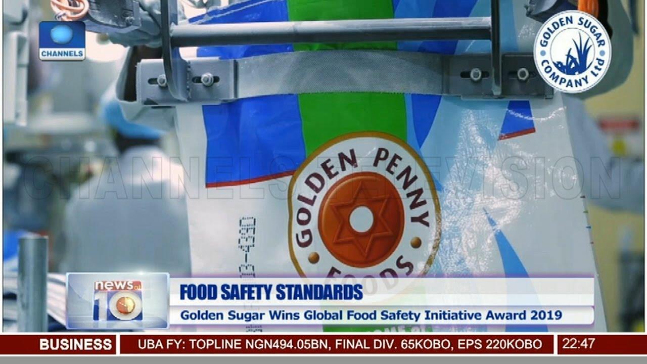 Golden Sugar Wins Global Food Safety Initiative Award