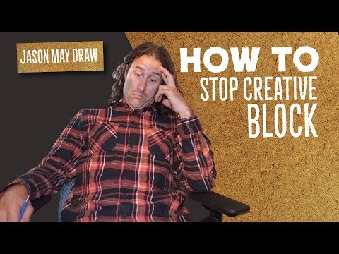 How To Stop Creative Block - Jason May shares some things he does to get back on track.