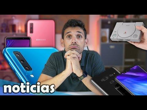 Noticias: Galaxy S10, LG V40, PlayStation Classic Mini, Nuevas TV´s Xiaomi