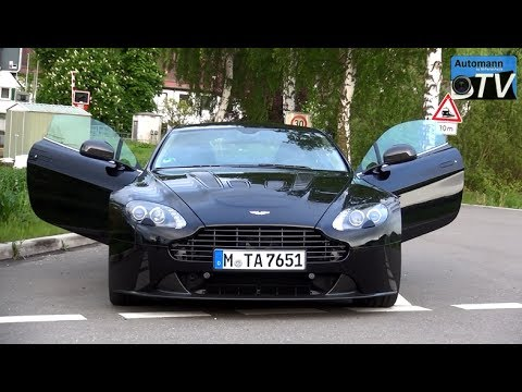 Aston Martin V12 Vantage (517hp) - DRIVE & SOUND (1080p FULL HD)
