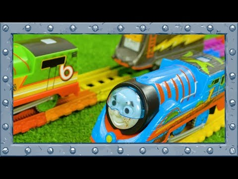 Thomas, Percy and Diesel | Hot Turbo Tug-of-War Challenge with Thomas and Friends!