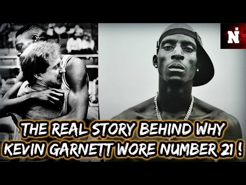 The Real Story Behind Why Kevin Garnett Wore Number 21!