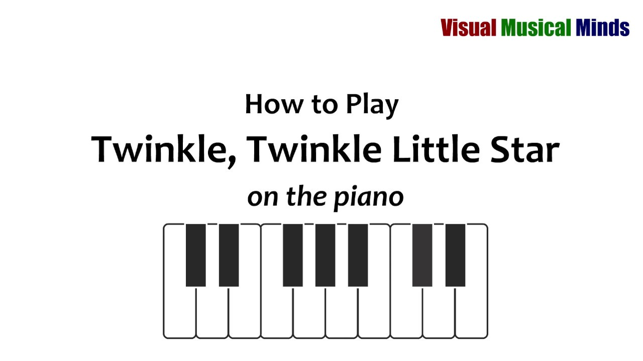 How to play twinkle twinkle little star for piano youtube how to play twinkle twinkle little star for piano hexwebz Gallery