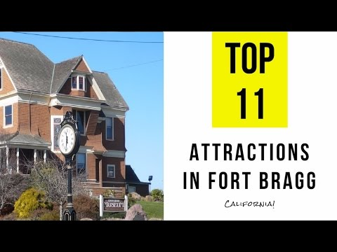 Top 11. Best Tourist Attractions in Fort Bragg - California