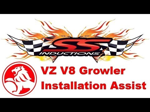 SS Inductions VZ V8 Growler Cold Air Induction Install Assist