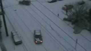 Original Portland Snow Car Crashes 2007