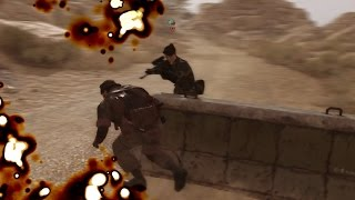 Female wildcard soldier - Infinite Heaven mod - MGSV by TinManSquad