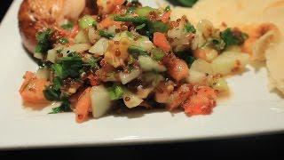 Delicious Mediterranean Salad W/ Quinoa ~ Easy ~ Super Food!