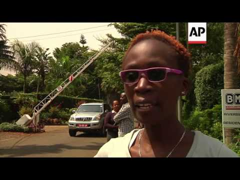 Protesters urge Uganda president not to sign anti-gay bill into law