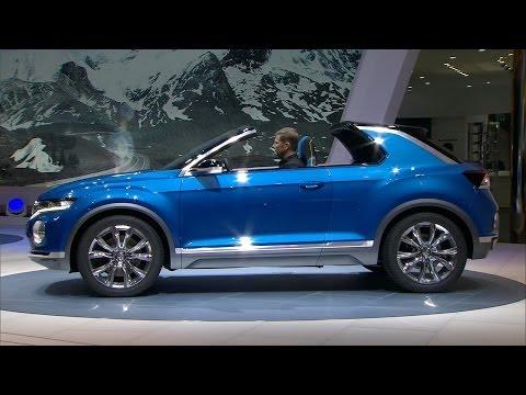 NEW Volkswagen T-ROC concept - World Premiere