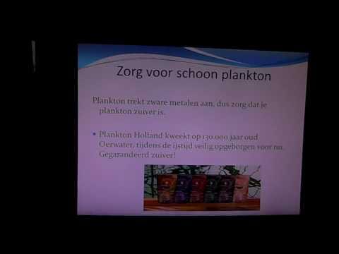 Plankton (eetbaar Marine phytoplankton)