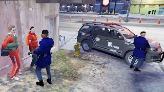 GTA 5 ROLEPLAY POLICIAL - FUGA NA ROTA?, ISSO NUNCA DA CERTO !