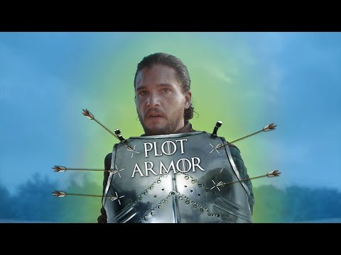 Game Of Thrones BUT It's Just Plot Armor