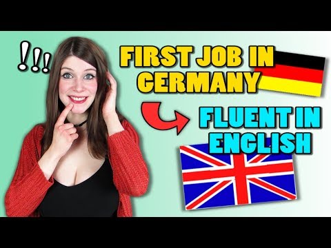 How my FIRST JOB IN GERMANY Made Me FLUENT IN ENGLISH