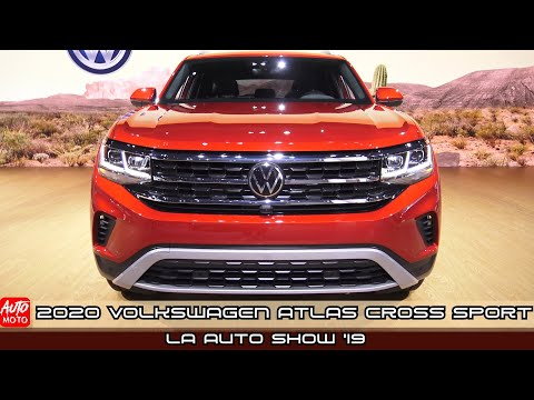 2020 Volkswagen Atlas Cross Sport SEL V6 - Exterior And Interior - Debut At LA Auto Show 2019