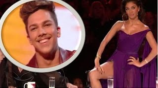 Matt Terry: Nicole Flirts & FLASHES Her Underwear To Her LOVER | Live Shows | The X Factor UK 2016