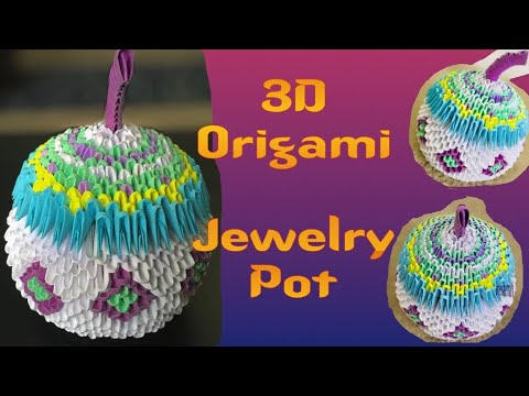 Download 3D Origami Jewelry Box Making