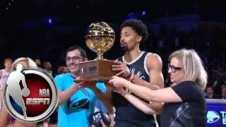 Spencer Dinwiddie wins 2018 NBA All-Star Skills Challenge | ESPN