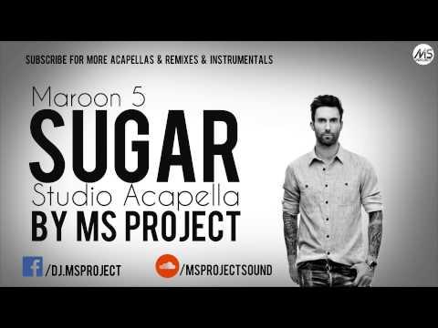 Maroon 5 - Sugar (Studio Acapella - Vocals Only) + DL