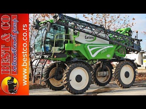 Prskanje kukuruza sa samohodnom GRIM GT7 prskalicom - Best & co vrbas