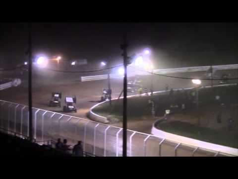 Port Royal Speedway All Star Sprint Car Highlights 9-06-14