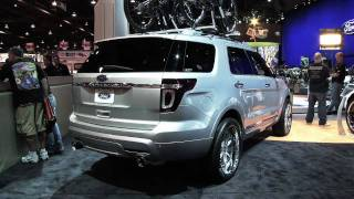 2011 Ford Explorer from the 2010 SEMA Show