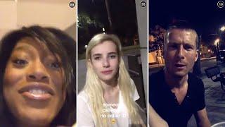 Keke Palmer | October 6th 2015 | FULL SNAPCHAT STORY (featuring Emma Roberts)