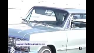 Eazy e in his 63 chevy impala