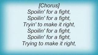 Ac Dc - Spoilin' For A Fight Lyrics