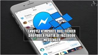 Envoyez n'importe quel fichier Dropbox à partir de Facebook Messenger