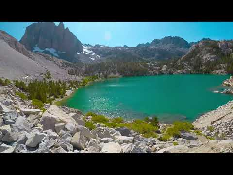 Scenic View Of Big Pine Lakes 1 & 2 And Brief Fishing Summary