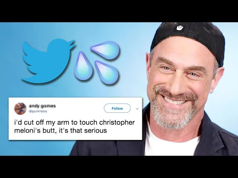Christopher Meloni Reads Thirst Tweets