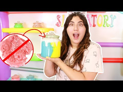 REMAKING ALL MY BACKGROUND SLIMES ~ 1 YEAR OLD SLIME HAD A FLY IN IT?!?! Slimeatory #393
