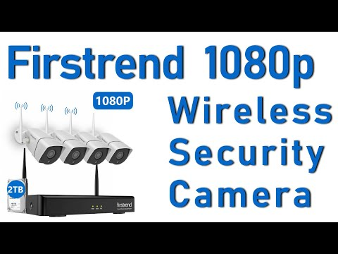 Firstrend 1080P Wireless Security Camera System Review