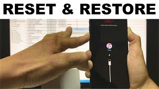 How To Reset & Restore your Apple iPhone 8 Plus - Factory Reset