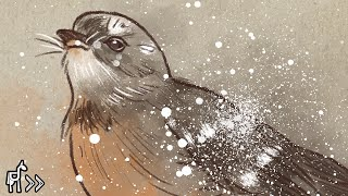 Fantail [Painting in Photoshop]