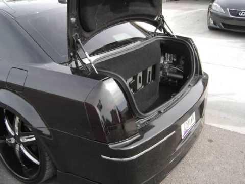 Chrysler 300 W Ssa Xcon 12 Quot Subwoofers Youtube