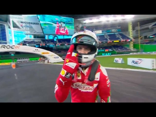 ROC Miami Nations Cup | Sebastian Vettel / Team Germany is the winner!