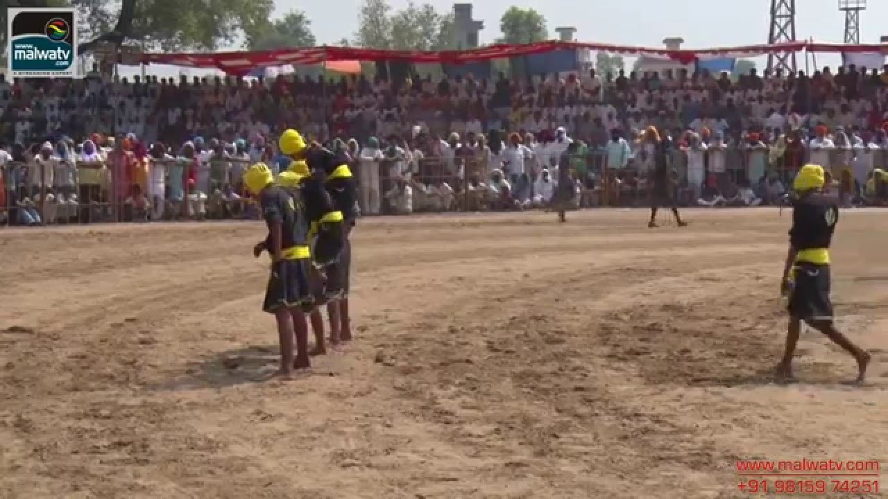 KISHANPUR KALAN (Moga) Kabaddi Tournament - 2014    HD    Part 1st.