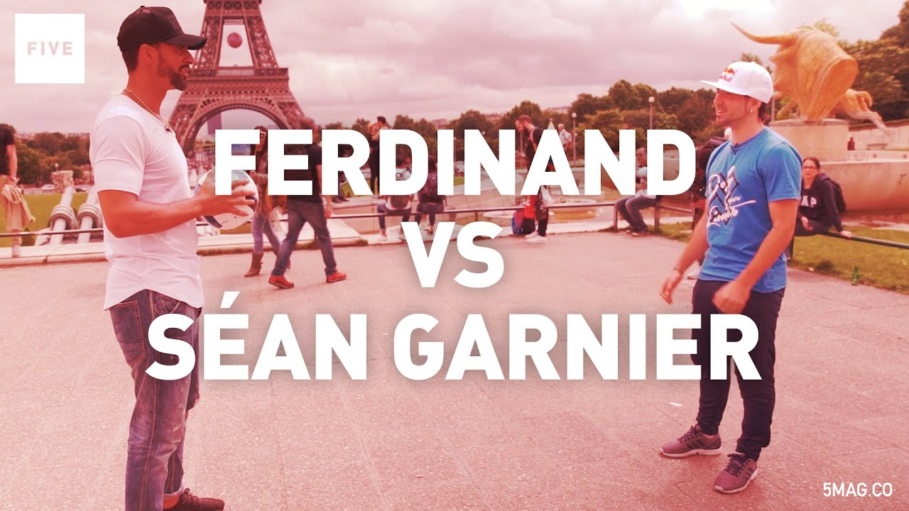 Sean Garnier Vs Rio Ferdinand | TALKIN' TWO TOUCH