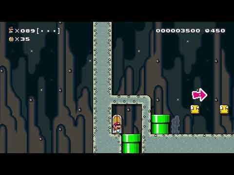 Super Mario Maker 100 Mario Challenge Super Expert No Skips 94