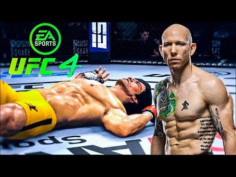 Download BRUCE LEE VS JOSH EMMETT   UFC 4 BRUTAL FIGHT   UFC 4   UFC 4 2021   EA SPORTS UFC 4