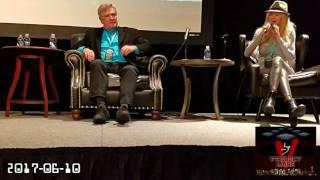 V Panel at Foxwoods ComiConn 2017