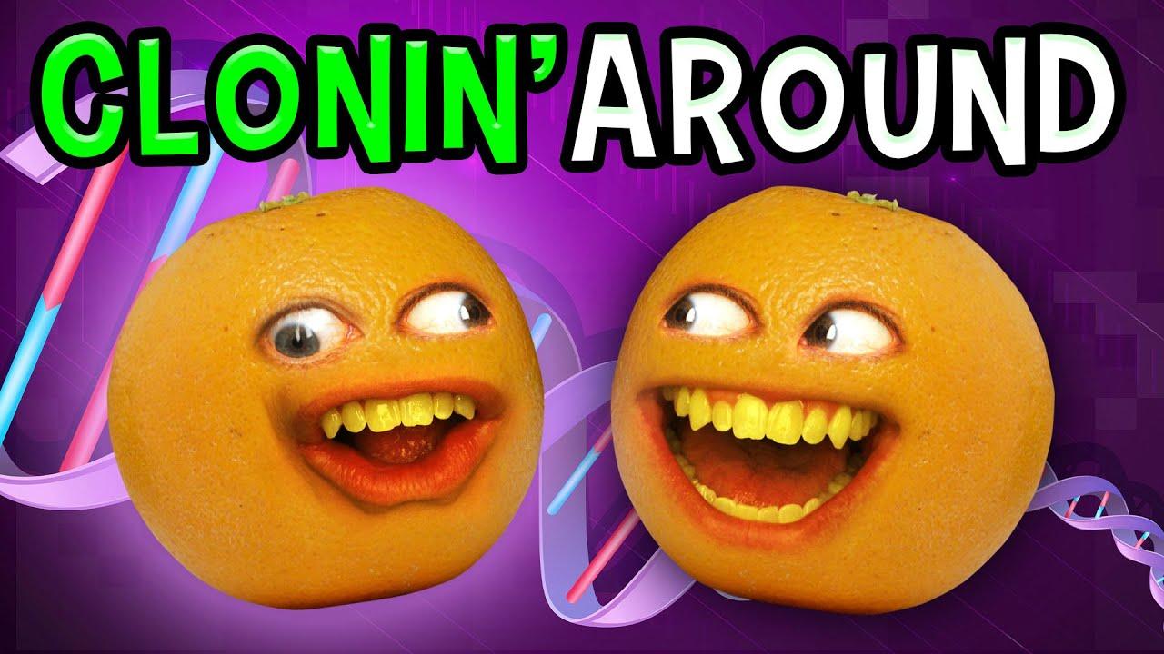 Annoying Orange - Clonin' Around!