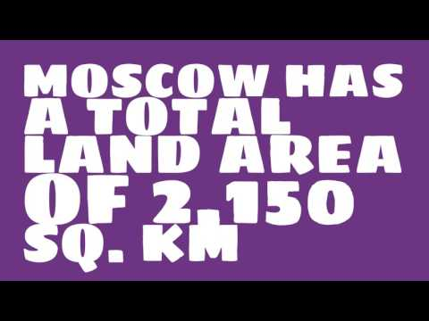 How does the population of Moscow rank?