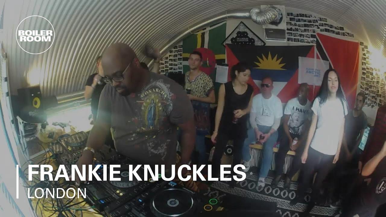 Frankie Knuckles Boiler Room London