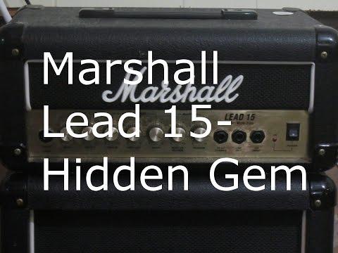 Marshall Lead 15-Hidden Gem !